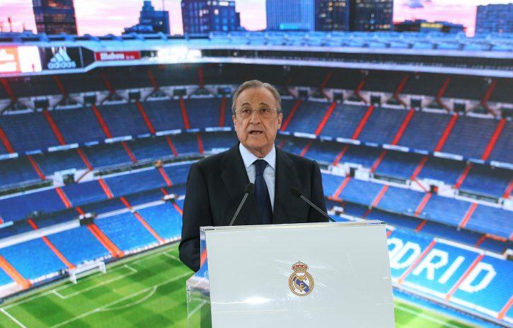 Florentino Perez, predsednik FK Real Madrid
