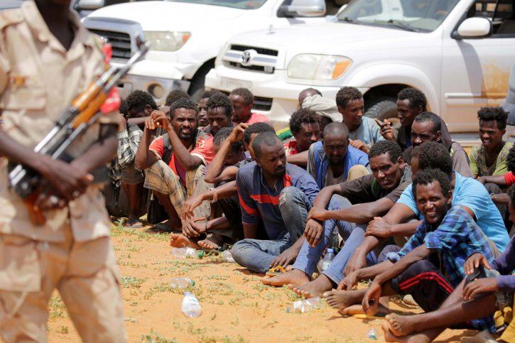 migranti; Libija