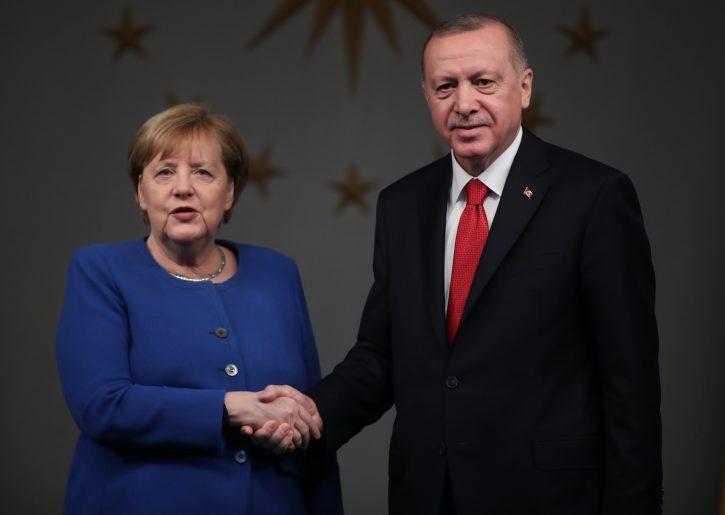 Angela Merkel, Redžep Taip Erdogan