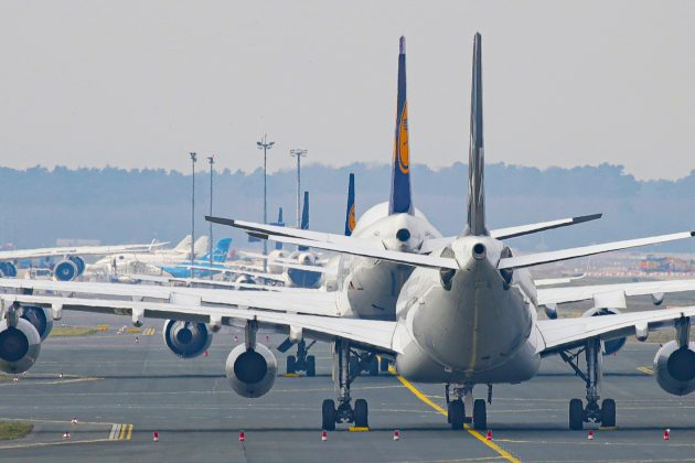 aerodrom, avioni, pista