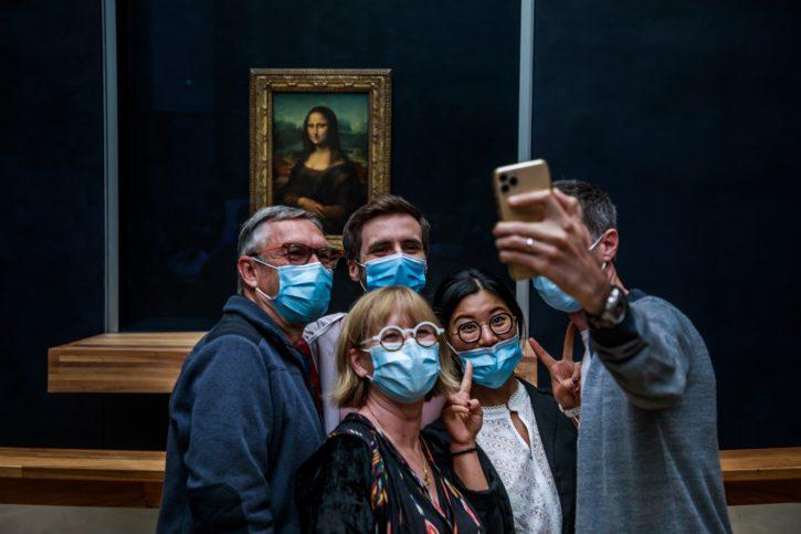 Mona Liza; Luvr; turističke atrakcije