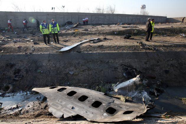Ukraina Iran avion nesreca