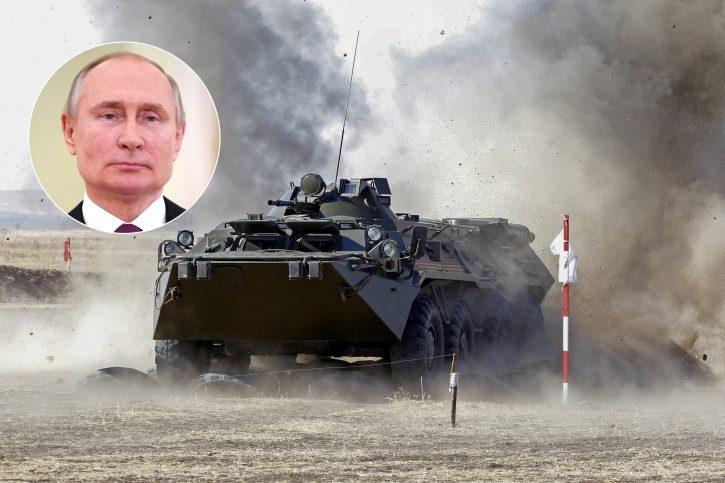Vladimir Putin, Ukrajina