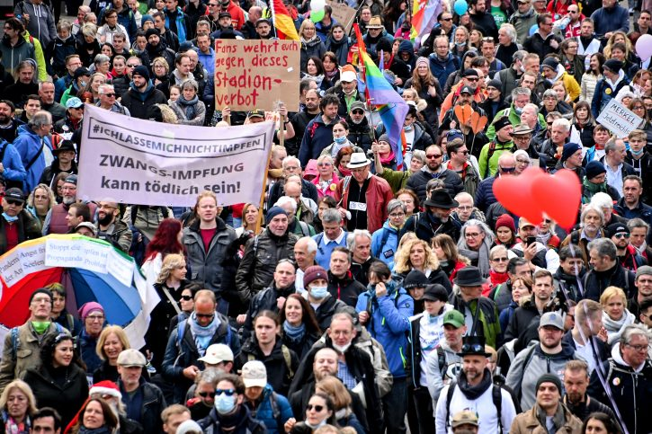 Štutgart, demonstracije