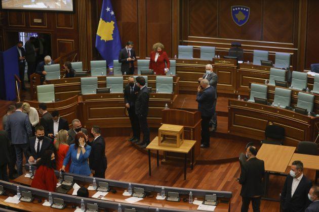 Sednica skupstine Kosova