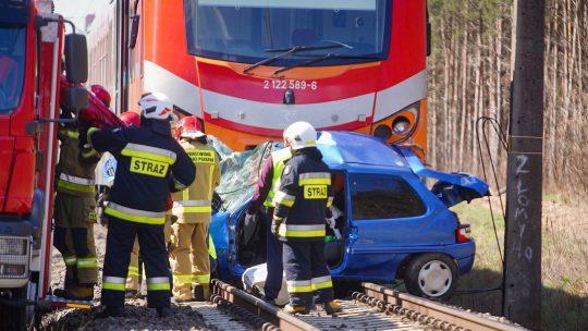 Poljska nesreća voz