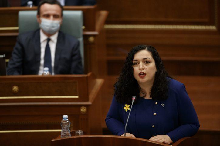 Vjosa Osmani nova predsednica Kosova Kosovo