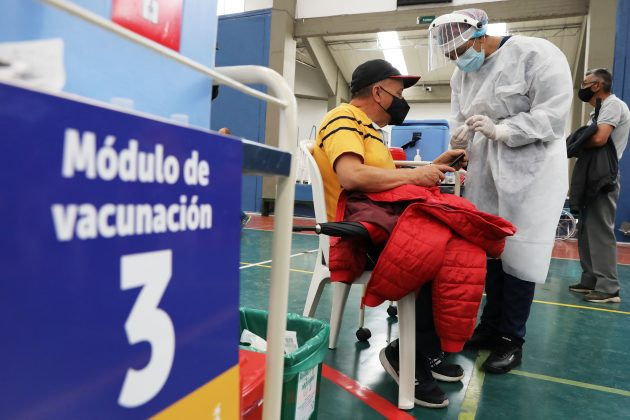 Kolumbija vakcinacija