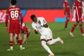 Vinisijus slavi gol protiv Liverpula