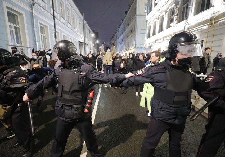 Moskva protest