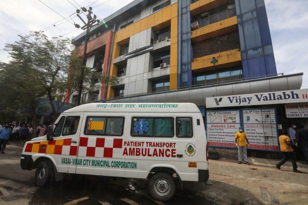 Indija pozar bolnica