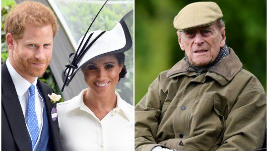 Princ Hari, Megan Markl, princ Filip