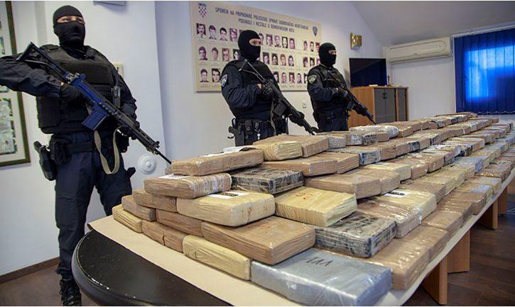Zaplenjen heroin luka Ploce Hrvatska