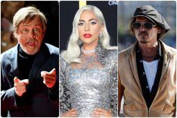 Mark Hamil Lejdi Gaga i Dzoni Dep