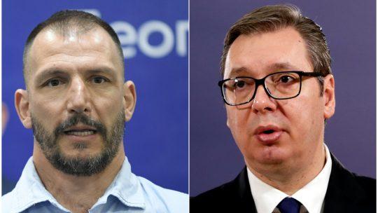 Danilo Ikodinovic i Aleksandar Vucic