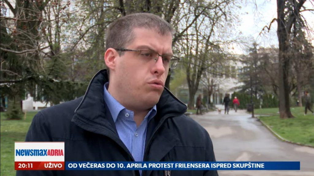 Ivan Ninić, Pregled dana, Newsmax Adria