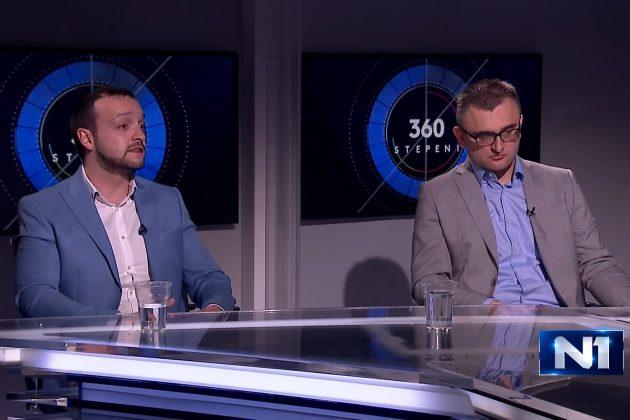 Boban Stojanovic i izvrsni direktor CESID-a Bojan Klacar