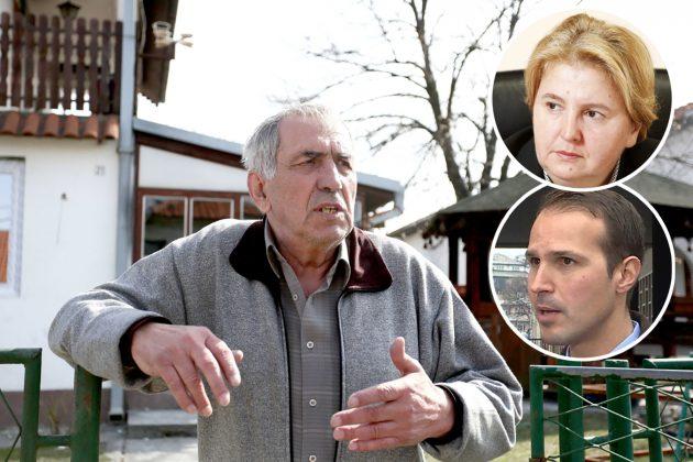 Milan Jovanović, Zagorka Dolovac i Predrag Milovanović