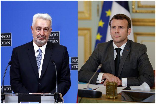 Zdravko Krivokapić, Emanuel Makron, Emmanuel Macron