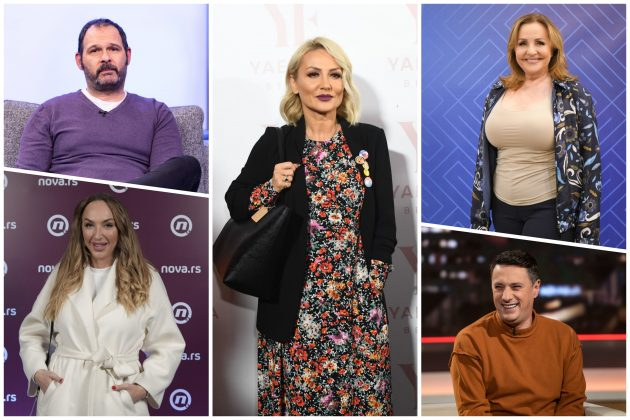 Aleksandar Srećković Kubura, Goga Sekulić, Goca Tržan, Ana Bekuta, Andrija Milošević