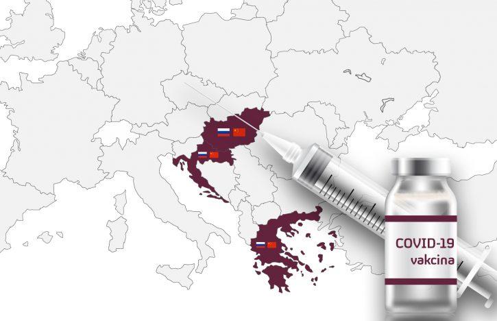 Evropa, vakcina, vakcinacija, grafika