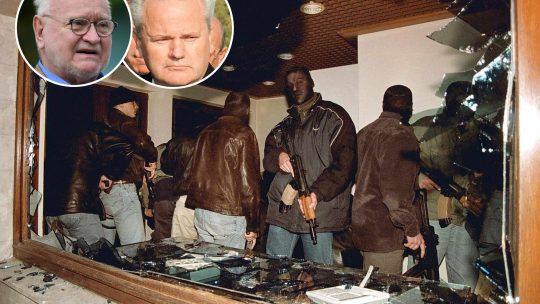 Hapšenje Slobodana Miloševića