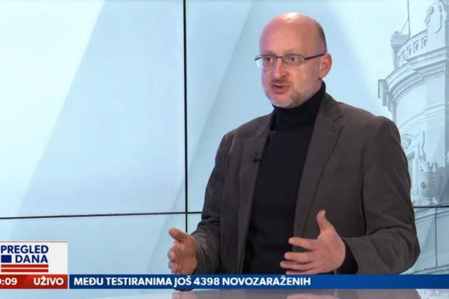 Nemanja Nenadić, Pregled dana Foto: Newsmax Adria