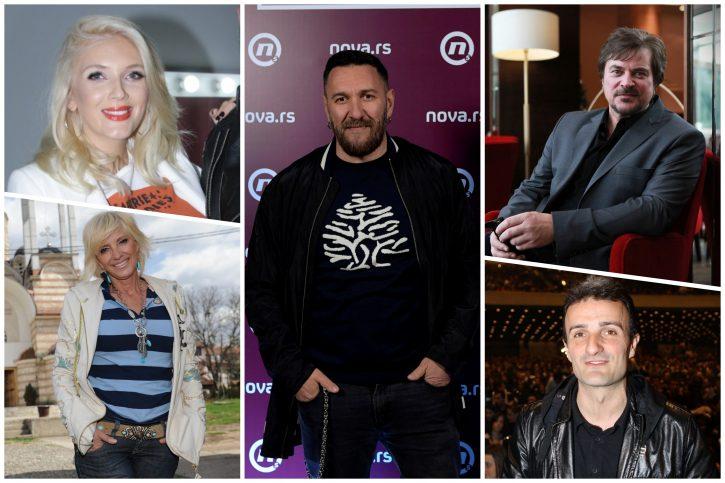 Nikolina Kovač, Dragica Radosavljević Cakana, Igor Lazić Nigor, Alen Islamović, Ivan Milinković