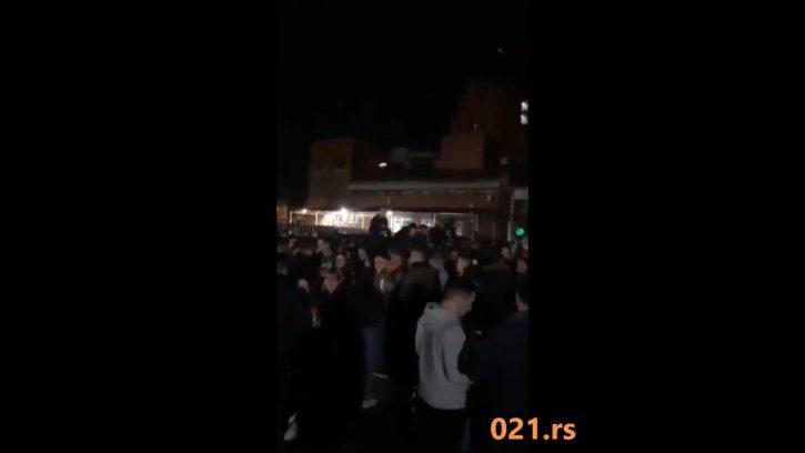 Novi Sad studenti zurka