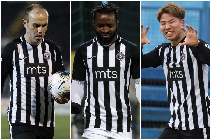 Bibras Natho, Sejduba Suma, Takuma Asano, Partizan, fudbal