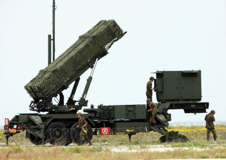 Patriota, raketni lanser
