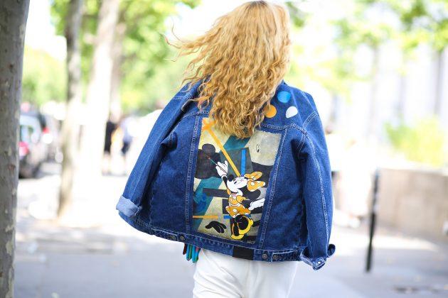 street style; teksas jakna
