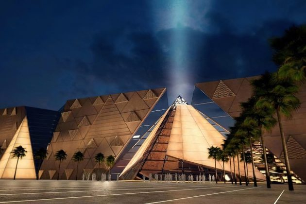 The Grand Egyptian Museum Veliki egipatski muzej