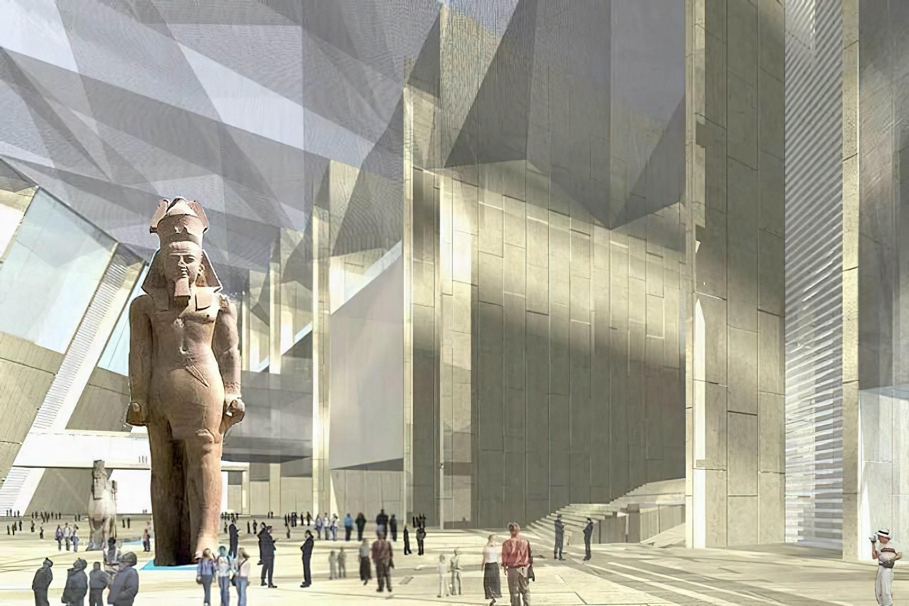 The Grand Egyptian Museum Veliki egipatski muzej