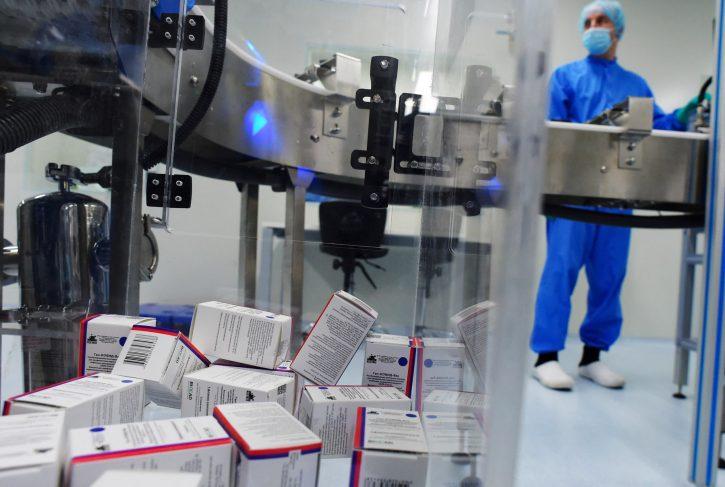 Vakcina Sputnik V proizvodnja