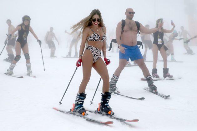 Skijanje u kupaćem