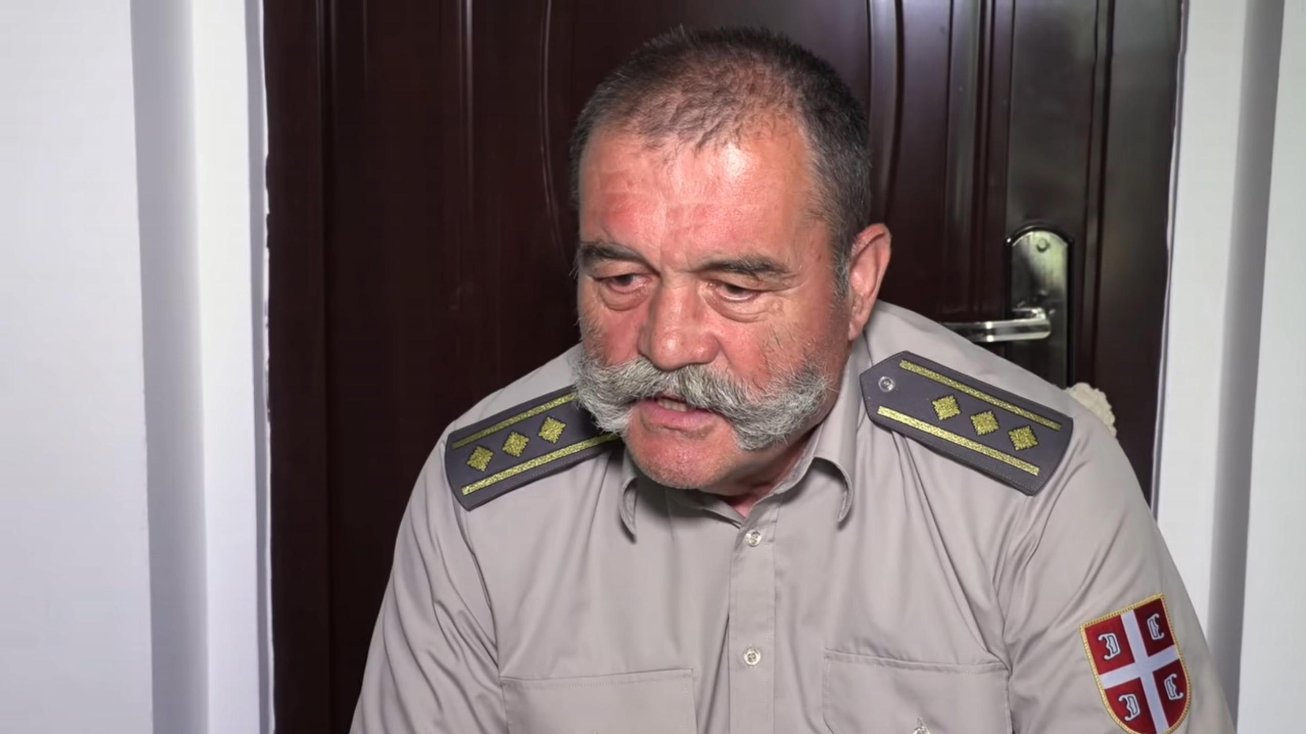 Pukovnik Gojko Lalović, iseljenje