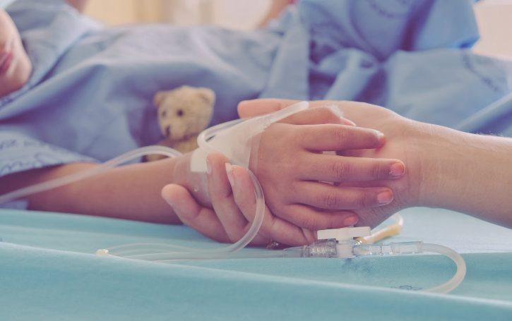 Dete, bolnica