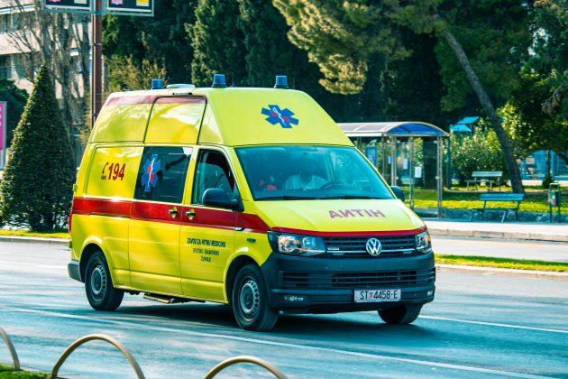 Hrvatska, hitna pomoć