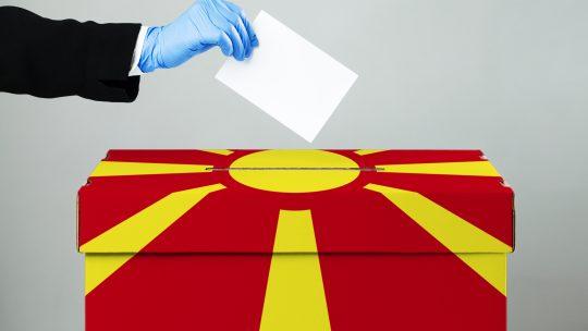 Severna Makedonija, glasanje, izbori, otisak prsta