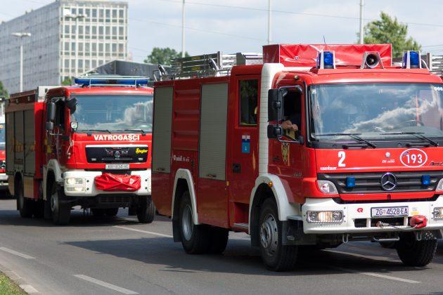 Zagreb, vatrogasci