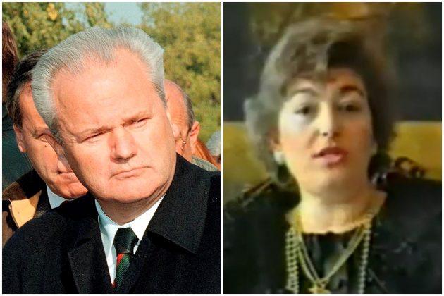 Slobodan Milošević, Dafina Milanović