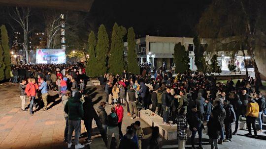 Dan studenata, 4. april studenti Studenstki grad