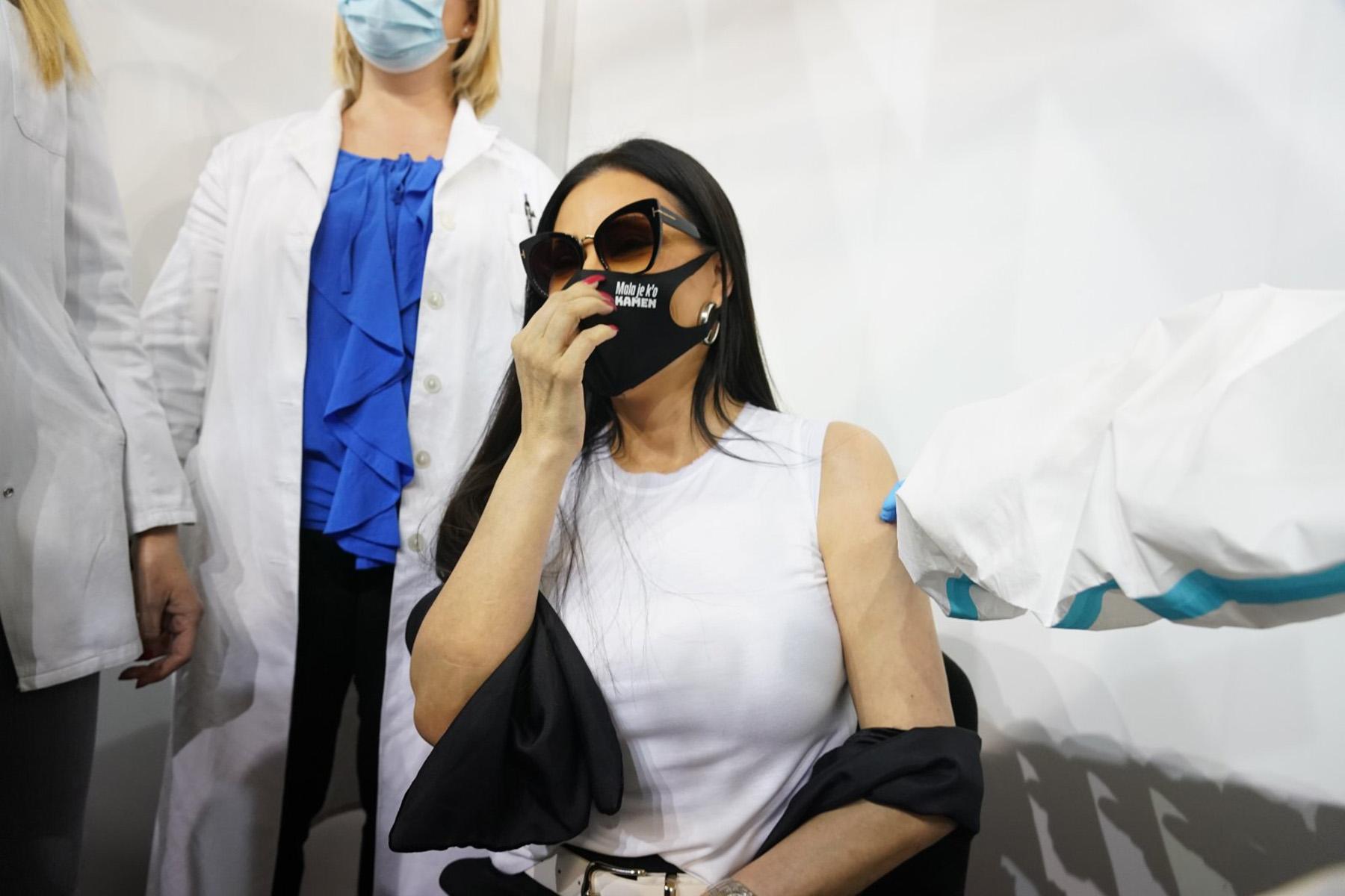 Svetlana Ceca Ražnatović vakcinacija