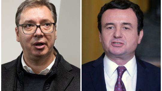 Aleksandar Vučić i Aljbin Kurti