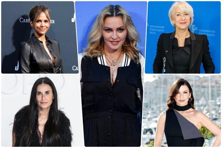 Madona, Demi Mur, Hale Beri, Helen Miren, Ketrin Zita Dzons