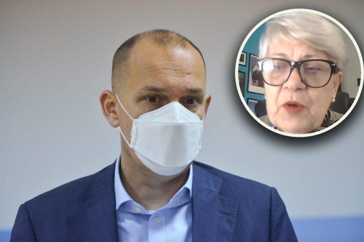 epidemiolog Lela Ilić i Zlatibor Lončar