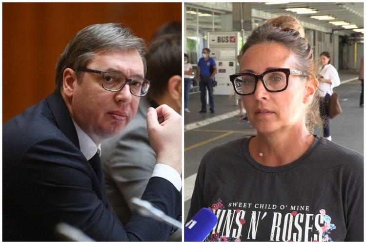 Aleksandar Vučić, Tatjana Vojtehovski