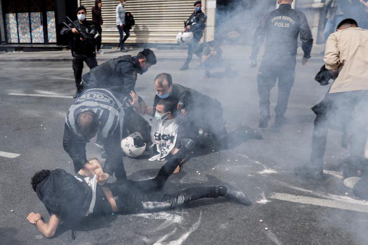 Turska, Istanbul, protest, policija