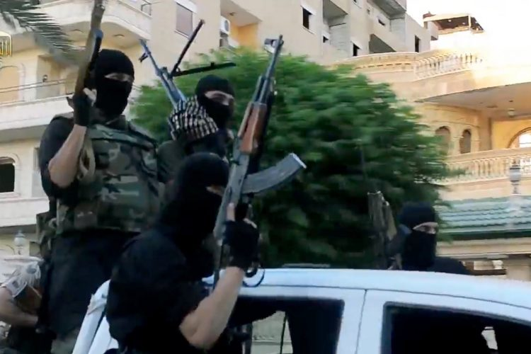 Irak, teroristi